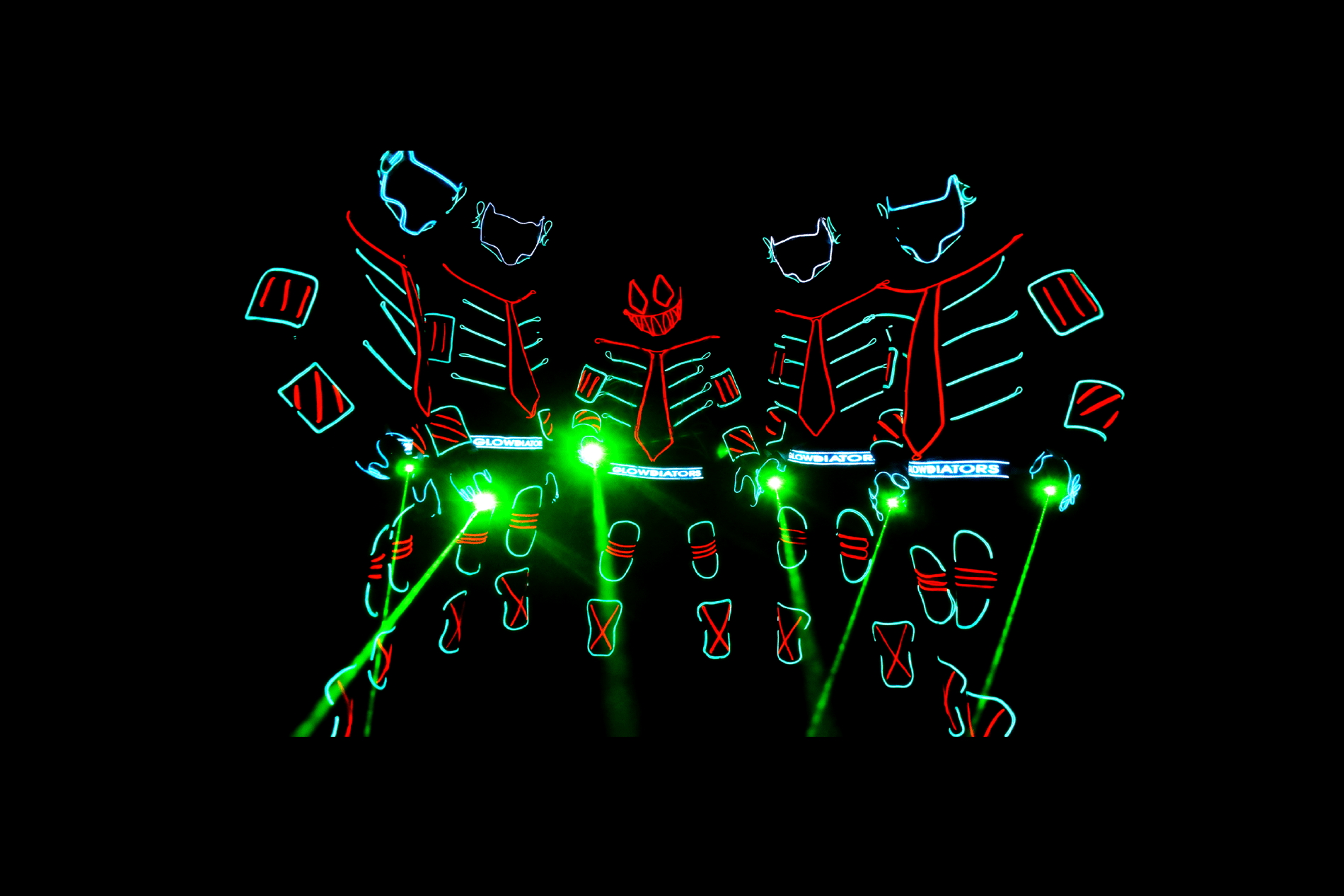 LED Dance Group