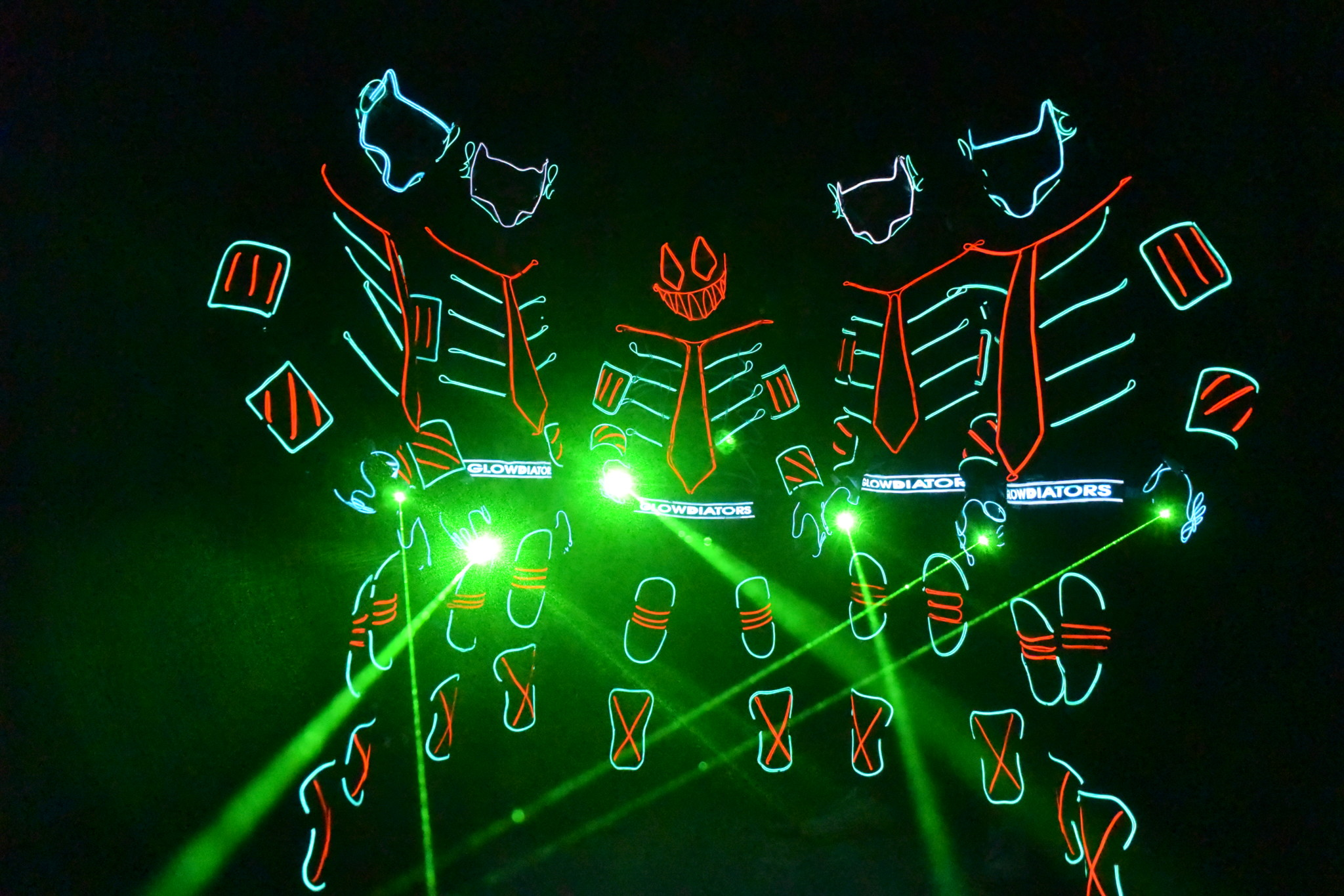 The Glowdiator - Best Dance Company in India